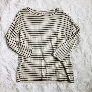 Soft Joie | Long Sleeved Striped Tee